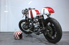 """BMW R80 """"Ruby Racer"""" 
