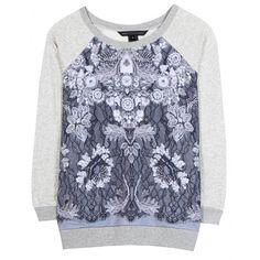 Lena Printed Sweatshirt ♦ Marc by Marc Jacobs | mytheresa
