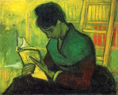 Vincent Van Gogh - the-novel-reader-1888-1.jpg 1,653×1,331 pixels