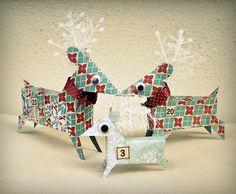 Sandy's Space: Reindeer Advent Calendar