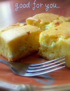 Corn bread...with cheese... by -Mellie-, via Flickr