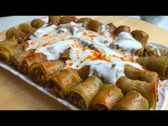 BÖYLE BİR SARMA GÖRMEDİNİZ😍🤩👌EFSANE BİR LEZZET 😍 SOFRALARIN YILDIZI OLACAK 🌟 - YouTube Baked Potato, Salsa, French Toast, Potatoes, Baking, Breakfast, Ethnic Recipes, Youtube, Food