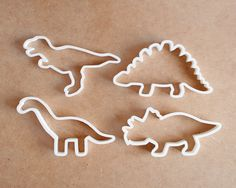 T Rex Cookie Cutter Different Sizes Dinosaur by RochaixCo on Etsy