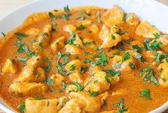 Receta de Pollo al curry: cremoso y delicioso