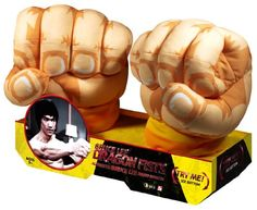 Bruce Lee Motion Activated Dragon Fists Jumbo Plush * Details can be found by clicking on the image.