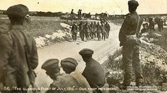 """Old WWI Postcard - """"The Glorious First of July 1916"""" by Sheffield Tiger, via Flickr"""