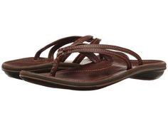 OluKai - U'i (Dark Java/Dark Java) Women's Sandals