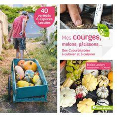 Mes courges, melons, pâtissons... Je cultive les cucurbitacées. #Jardinage