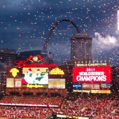 2011 St Louis Cardinals World Series Champions!!