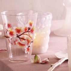 cherry blossom glass by roost