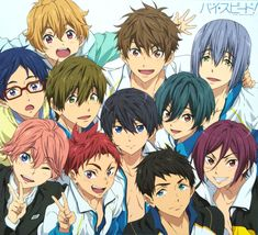 i... is that... HARU SMILING?!??! EVEN A LITTLE??!!! OH MY GID!!! MISSION ACCOMPLISHED!!!
