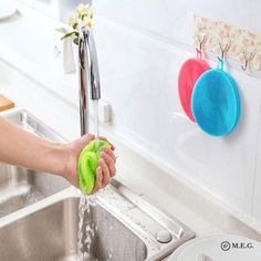Silicone Dish Washing Sponge Scrubber Cleaning Antibacterial Kitchen Tools NEW Pad Cleaning Mat Kitchen Washing Tools Cleaner. Silicone Scrubbers with thick and Soft Bristles to Replace Traditional Nasty Sponge or Rags! Dish Washing Brush, Washing Dishes, Kitchen Sponge, Pad, Brush Cleaner, Housekeeping, Dishwasher, Food Grade, Breeze