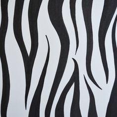 How to Draw Zebra Print