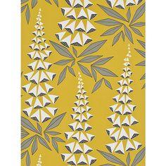 Buy MissPrint Foxglove Wallpaper, Quince, MISP1146 Online at johnlewis.com