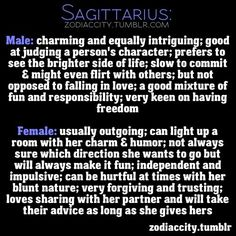 Personality traits of a sagittarius man