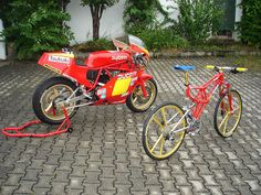 Radical Ducati S.L.: PELAGRO Bycycles‏ !