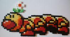 Wiggler Mario hama perler by creationperles