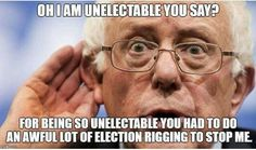 Corruption Won, this time, and it will go down in 'Herstory' and the USA will be in decline unless Jill Stein of the Green Party is elected or Bernie steps in for Hill