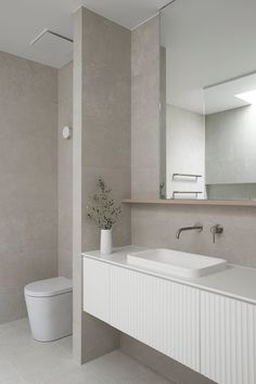 Bathroom Renos, Bathroom Layout, Bathroom Interior Design, Bathroom Renovations, Small Bathroom, Ensuite Bathrooms, Vanity Bathroom, Bathroom Basin, Bathroom Wallpaper