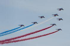 Patrouille de France Dassault Dornier AlphaJet trainers. photos Armée de l'Air