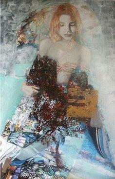 Artiste peintre Pascal Dugourd: Le femmes horloges , œuvres de l' artiste Dugourd ...