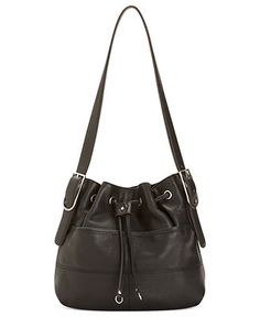 Tignanello Handbag, Luck of the Draw Leather Drawstring Hobo - Handbags & Accessories - Macy's