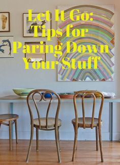 Take It From Elsa and Let It Go: Tips, Strategies and Mindsets for Paring Down Your Stuff — Best of 2014 | Apartment Therapy