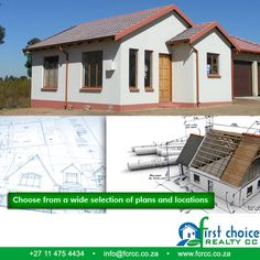 3 Bedroom Plan, First Choice, Pretoria, Affordable Housing, Stepping Stones, Opportunity, How To Plan, Website, Link