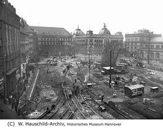 HANNOVER Umbau des Ernst-August-Platzes 1938