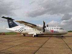 CSA ATR-42 OK-JFL in Skyteam colours.