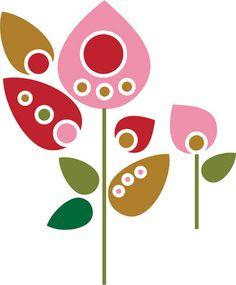 60sflowers by bird.STUDIOS, via Flickr