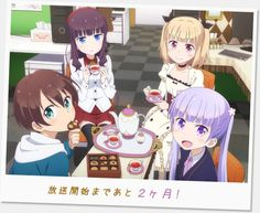 New Game! Anime Gets New Visual by Mike Ferreira