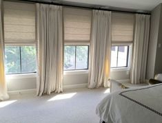 Our New House: Window Treatments When designing a house, I always advise clients on the importance of window treatments. Just like lighting and rugs, window treatments help to anchor a room and are an important investment.