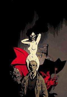 John Constantine by Mike Mignola