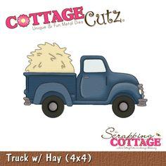 CottageCutz Truck w/ Hay Shape (4x4) RETIRED