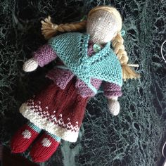 Ravelry: yarncycle's dolly (some stash, some op shop, some not)