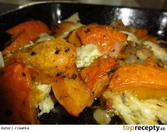 Hokaido zapečená s Nivou Vegetarian Recipes, Cooking Recipes, Healthy Recipes, Pumpkin Squash, Home Food, Paleo, Food And Drink, Low Carb, Yummy Food