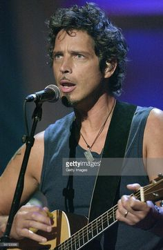 Musician Chris Cornell of Audioslave performs at the 'ReAct Now: Music & Relief' benefit concert at Paramount Studios on September 10, 2005 in Hollywood, California. The special, featuring musical performances from a wide array of artists, seeks to raise much-needed funds for The American Red Cross, The Salvation Army, America's Second Harvest and similar organizations as they continue their relief efforts in the devastating wake of Hurricane Katrina.