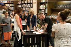 Book Signing Event at Barnes & Noble Edina, MN 12 Jul 2015