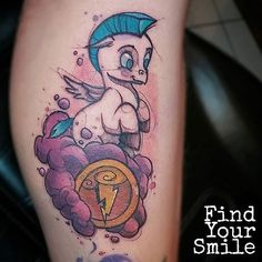 Adorable little Pegasus done by @findyoursmile #inkeddisney