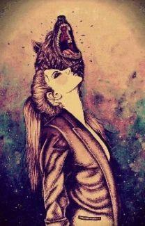 Like a wolf!