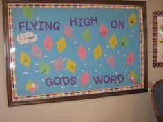 March Bulletin Board 2011 - Flying High on Gods Word