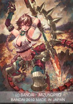 バンダイ・神宝大戦テオスマキア第4弾(食玩・チョコスナック)のイラストで描いたものです。http://teosmakia.com/
