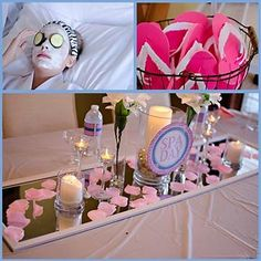 Image result for little girl spa party ideas