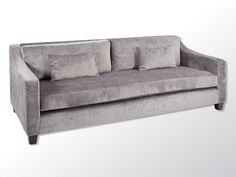 The Cavalli sofa has been designed with comfort in mind. It has sloping arms and kidney cushions along with a single seat cushion for an elegant effect.