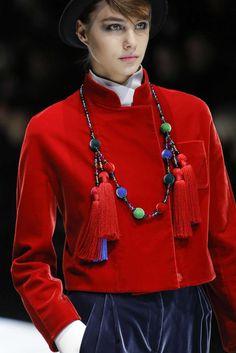 Giorgio Armani, Autunno/Inverno 2017, Milano, Womenswear