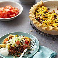 Southwest Taco Pie