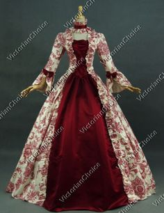 Georgian-Victorian-Gothic-Period-Dress-Wedding-Gown-Reenactment-Clothing-138