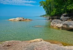Lake Superior Shoreline in the Pictured Rocks National Lakeshore