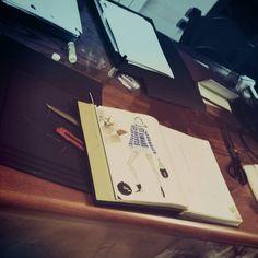 #At work